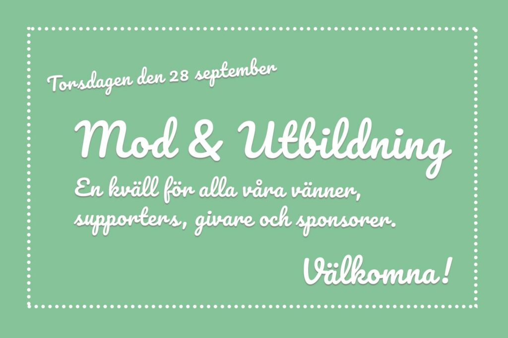 From One To Another event - Mod & Utbildning